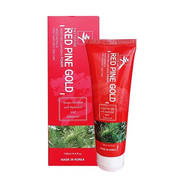 Sữa rửa mặt tinh dầu thông đỏ Red Pine Gold 130ml Hàn Quốc