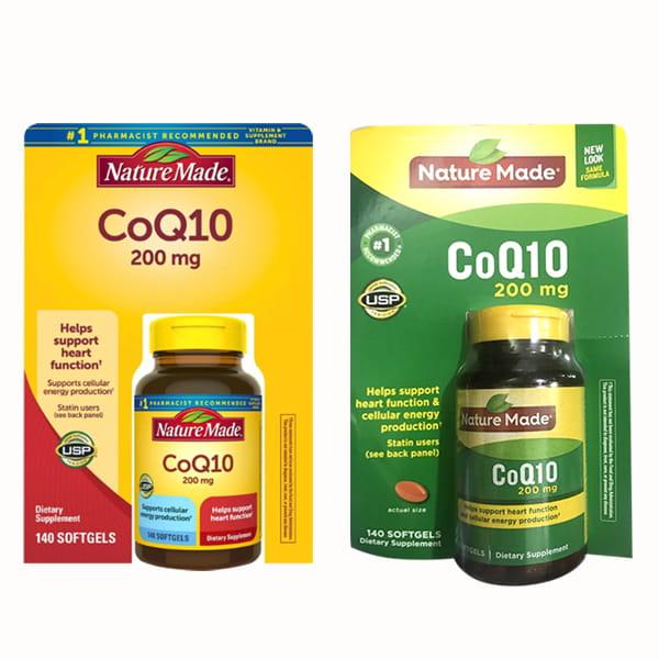 CoQ10 Nature Made 200mg - Thuốc Bổ Tim Mạch Của Mỹ