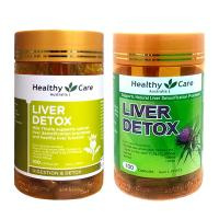 Viên uống giải độc gan Liver Detox Healthy Care 100 viên Úc