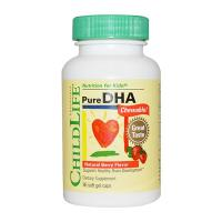 Thuốc Bổ Sung Childlife Pure DHA 250mg 90 Viên Của Mỹ