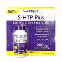 Viên uống giảm căng thẳng Natrol 5-HTP Plus 200mg ...