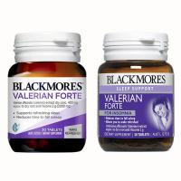 Viên uống hỗ trợ giấc ngủ Blackmores Valerian Forte 2000mg Úc