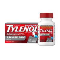Viên uống giảm đau hạ sốt Tylenol Acetaminophen - Viên gels