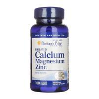Chelated Calcium Magnesium Zinc Puritans Pride 100...