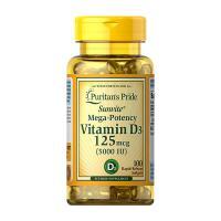Viên uống bổ sung Vitamin D3 125mcg Puritans Pride 100 viên
