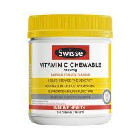Viên nhai Swisse Vitamin C Chewable 500mg 310 viên của Úc