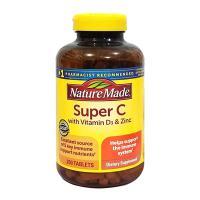 Viên uống tăng cường miễn dịch Super C With D3 & Zinc 200v