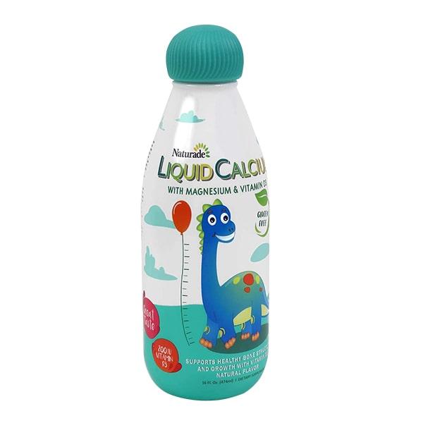 Canxi nước cho bé Naturade Liquid Calcium 474ml chính hãng Mỹ