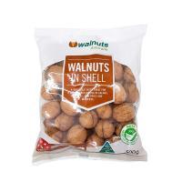 Hạt óc chó nguyên vỏ của Úc Walnuts In Shell 500g–Giá tốt nhất