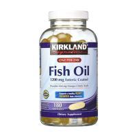 Dầu Cá Fish Oil 1200mg Enteric Coated Kirkland Sig...