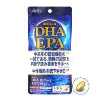 Dầu cá Mega DHA EPA Infinity gói 140 viên của Nhật Bản