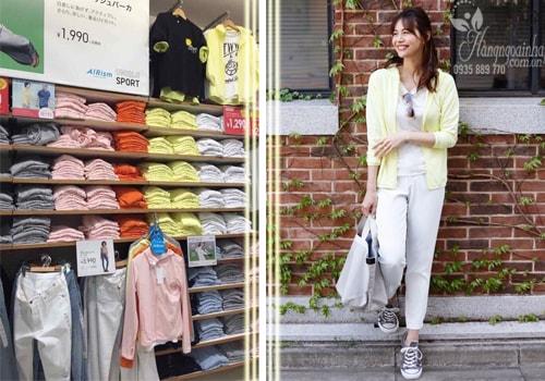 Áo chống nắng uniqlo dành cho nữ của Nhật