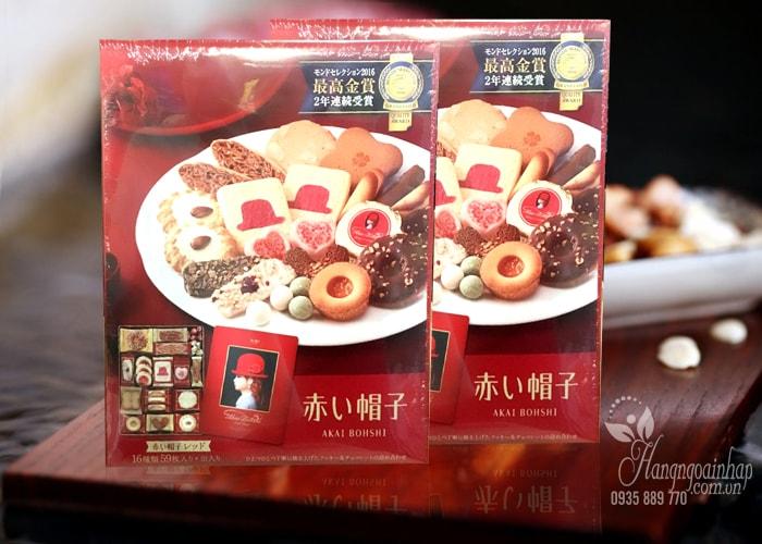 Bánh cao cấp Akai Bohshi 16 vị của Nhật Bản