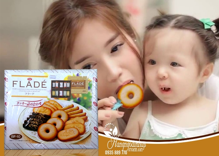 Bánh quy kẹp kem YBC Flade BF-10 Nhật Bản