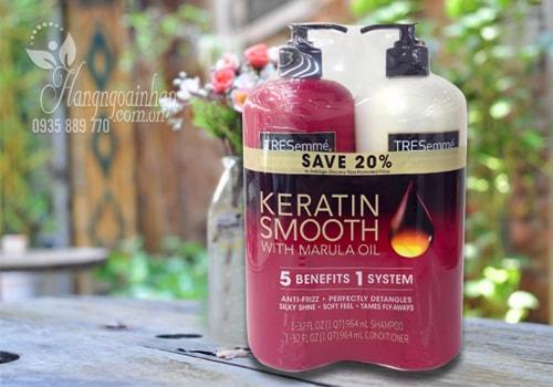 Bộ dầu gội xả Tresemme Keratin Smooth 2 x 964ml của Mỹ