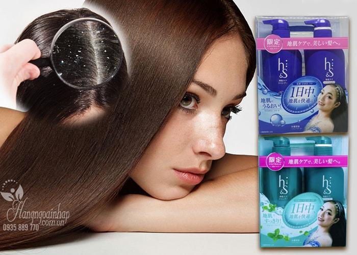 Bộ gội xả H&S của Nhật Bản - Trị gàu siêu hiệu quả
