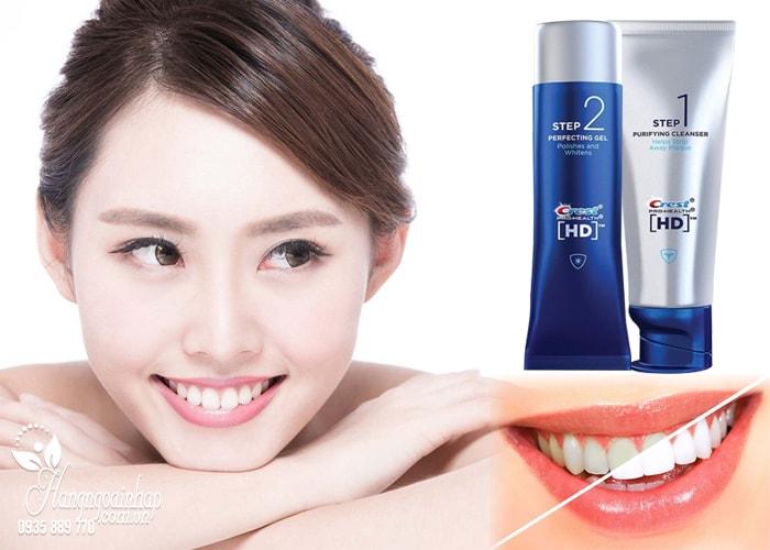 Bộ kem làm trắng răng Crest HD Pro-Health Daily Two Step