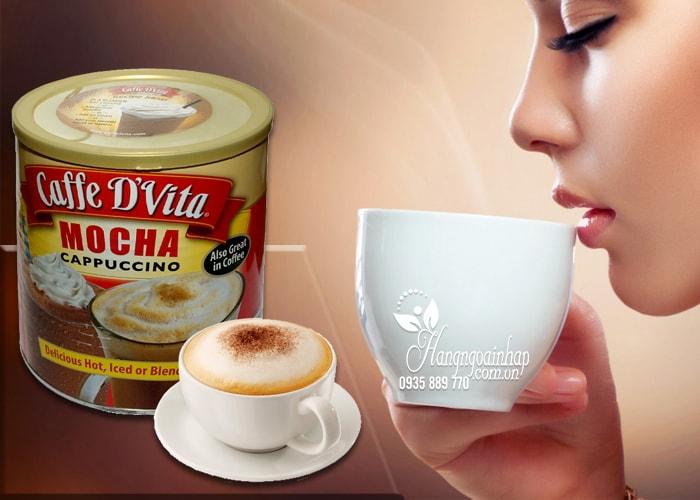 Bột cà phê hòa tan Caffe D'Vita Mocha Cappuccino