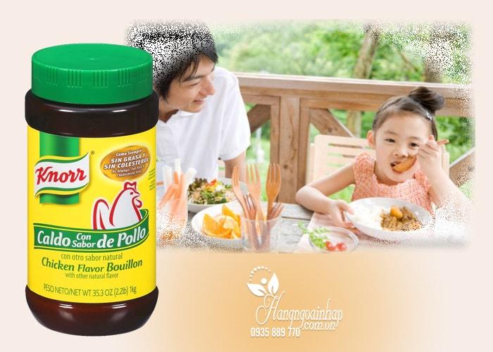 Bột nêm Gà Knorr Chicken Flavor Bouillon 1kg của Mỹ
