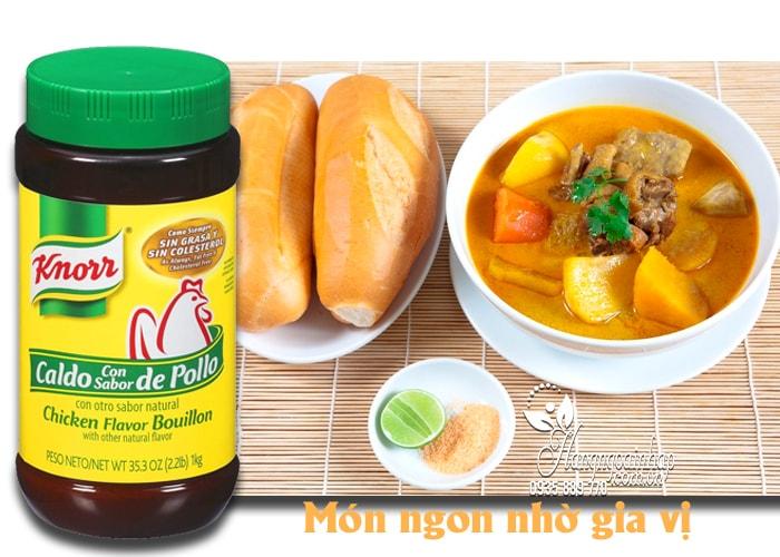 Bột nêm Gà Knorr Chicken Flavor Bouillon