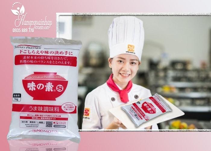 Bột ngọt Ajinomoto 1kg của Nhật Bản, không chất bảo quản