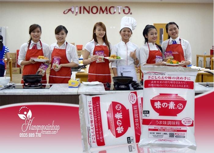 Bột ngọt Ajinomoto 1kg của Nhật Bản, không chứa chất bảo quản