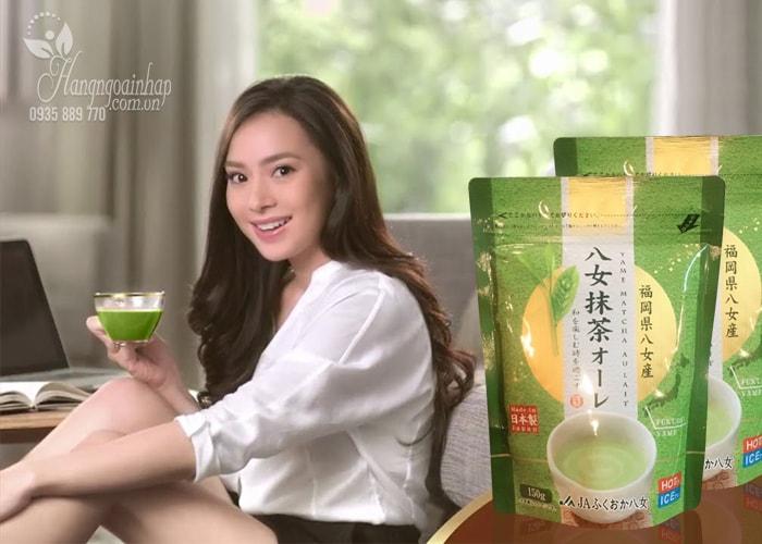 Bột trà xanh sữa Matcha Milk Yame 150g Nhật Bản