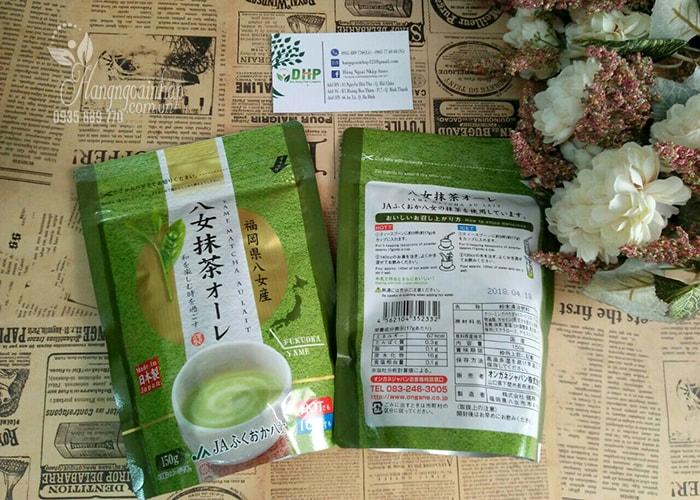Bột trà sữa Matcha Milk Yame 150g của Nhật Bản