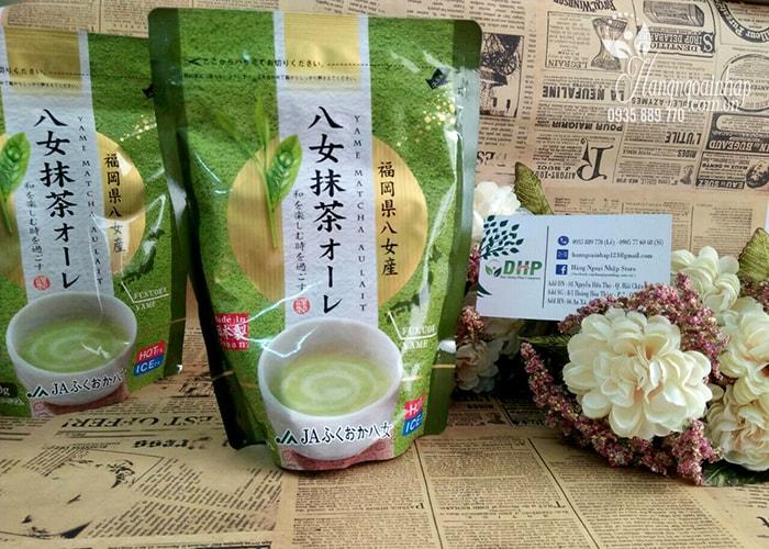 Bột trà xanh sữa Matcha Milk Yame 150g của Nhật