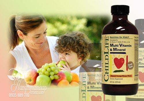 ChildLife Multi Vitamin Mineral Vitamin Tổng Hợp Cho Bé