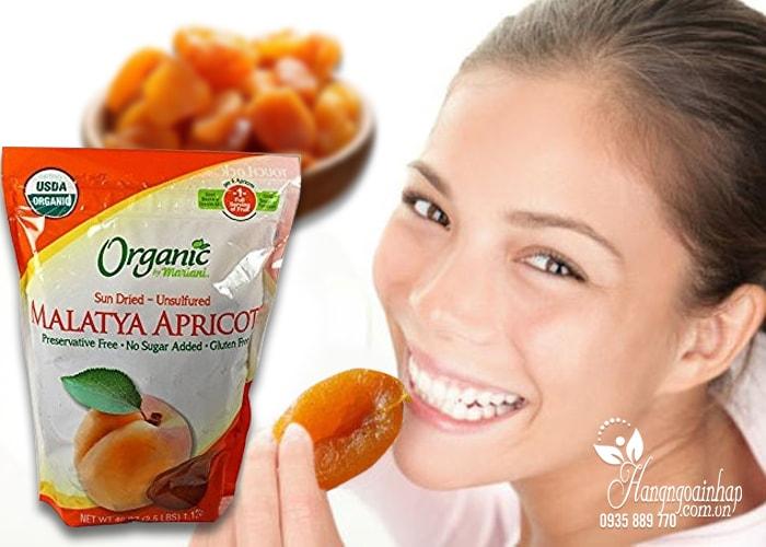 Quả mơ sấy khô Organic Malatya Apricots của mỹ