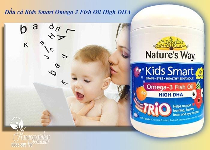 Dầu cá Kids Smart Omega 3 Fish Oil High DHA cho bé