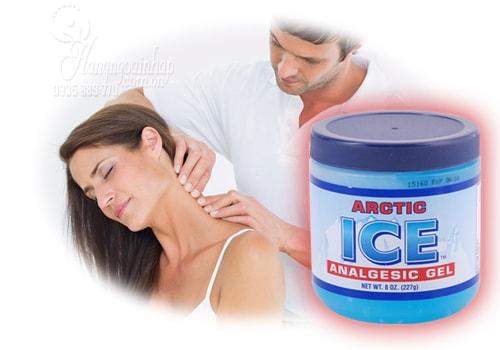 dầu lạnh xoa bóp ice của mỹ