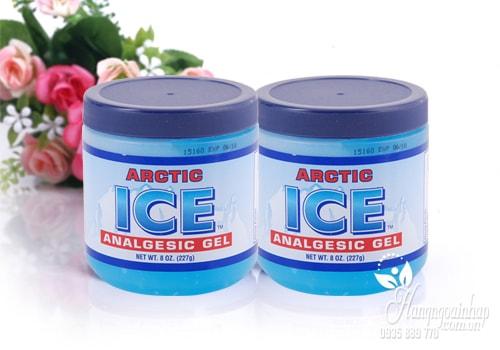 Dầu lạnh xoa bóp giảm đau nhức Arctic Ice Analgesic Gel của Mỹ 227g