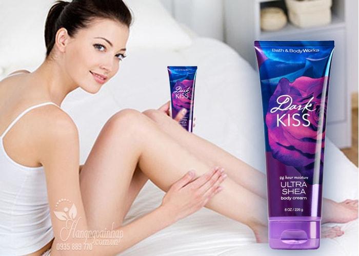 Kem dưỡng thể Dark Kiss 24 Hour Moisture Ultra Shea Body
