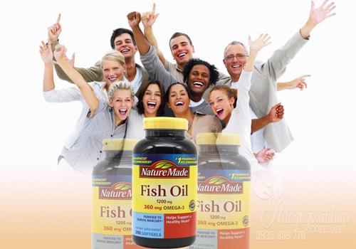 Nature Made Fish Oil 1200mg 360mg Omega Của Mỹ