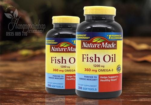 Nature Made Fish Oil 1200mg 360mg Omega 3