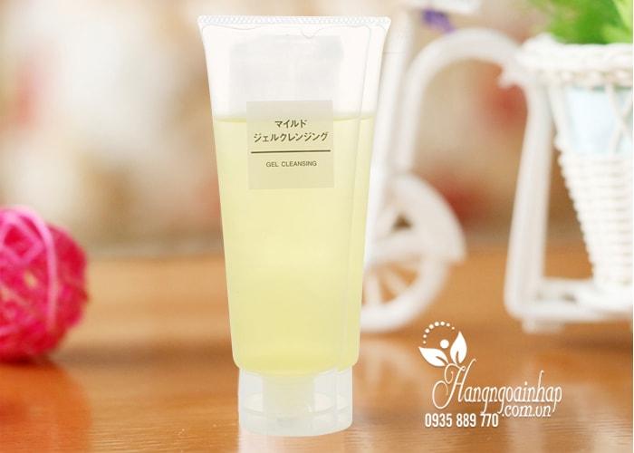 Gel rửa mặt Muji Gel Cleansing 200ml – Hàng nội địa Nhật