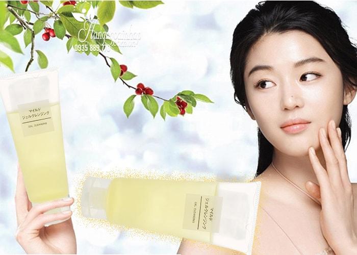 Sữa rửa mặt Muji Gel Cleansing 200ml – Hàng nội địa Nhật