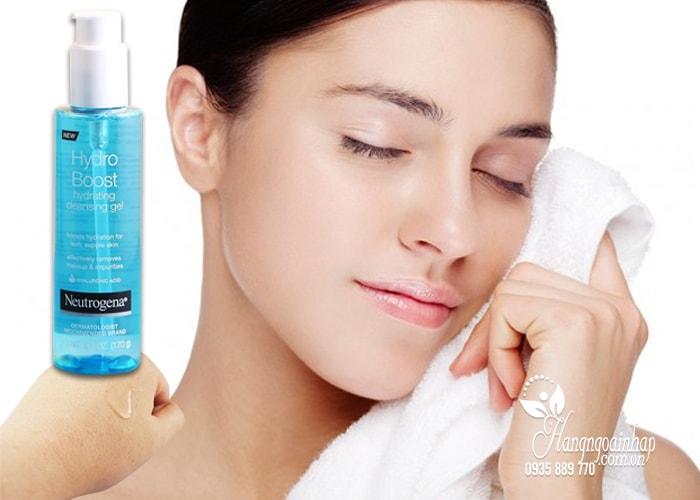 Gel rửa mặt Neutrogena Hydro Boost Hydrating Cleansing 170g của Mỹ