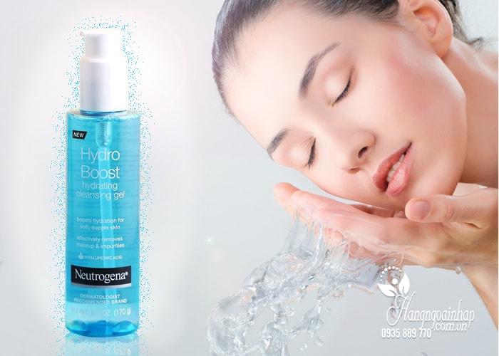 Sữa rửa mặt dạng gel Neutrogena Hydro Boost Hydrating Cleansing 170g