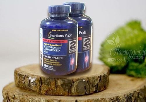 Viên uống hổ trợ xương khớp Puritan's Pride Glucosamine 180 viên của Mỹ