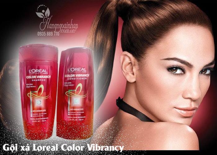 Set Gội xả Loreal Color Vibrancy - Dành cho tóc nhuộm