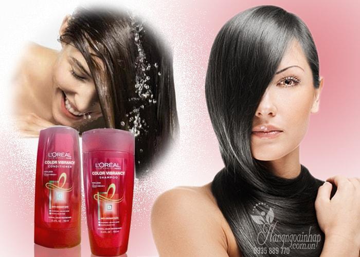 Bộ Gội xả Loreal Color Vibrancy 750ml - Dành cho tóc nhuộm