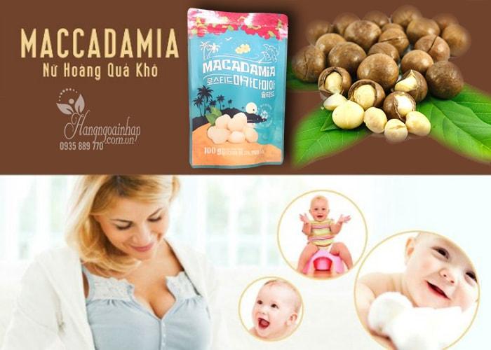 Hạt mắc ca tẩm muối Macadamia Aloha Nuts của Nhật Bản