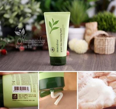 Sữa rửa mặt trà xanh Innisfree Green Tea Cleansing Foam 150ml