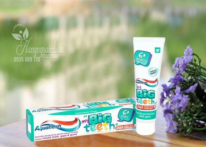 Kem đánh răng Aquafresh My Big Teeth 50ml cho trẻ từ 6 tuổi