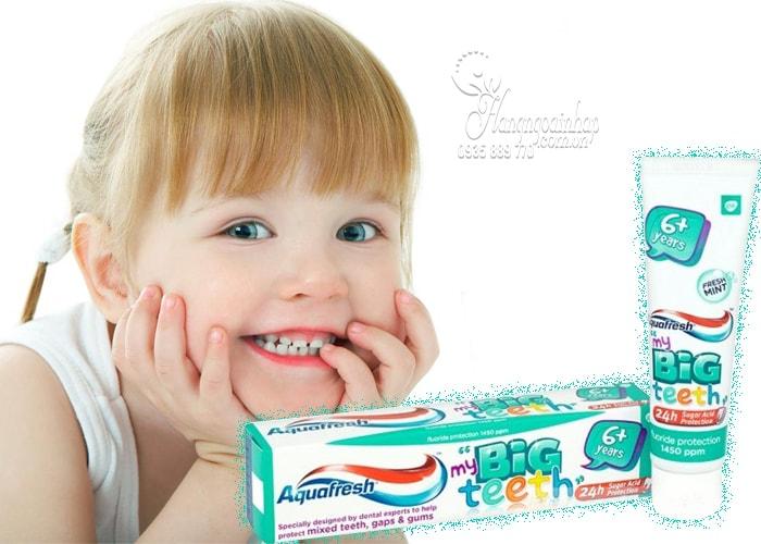 Kem đánh răng Aquafresh My Big Teeth cho trẻ từ 6 tuổi trở lên