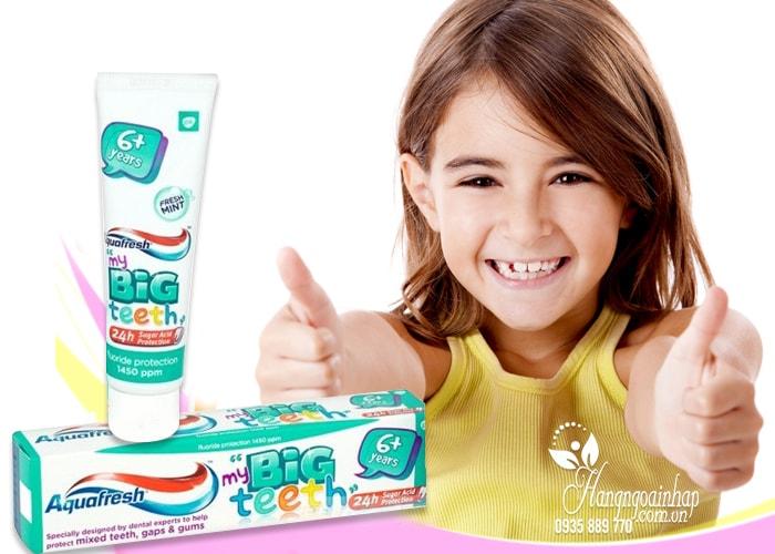 Kem đánh răng Aquafresh My Big Teeth 50ml cho trẻ trên 6 tuổi
