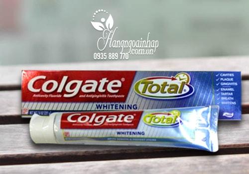 Kem đánh răng Colgate Total Whitening 221g – Làm trắng hiệu quả